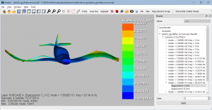 Flutter Analysis with pyNastran