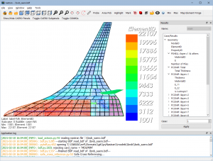 Read more about the article Shear Moment Diagram of a Blended Wing Body using pyNastran